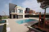 SD107, Wonderful luxury villa in the best area of Torrevieja, Rico del mar.