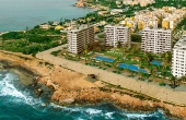 SD114, Panorama mar, luxery 3 bedrooms apartments with spectacular Mediterranean Sea and Punta Prima beach.